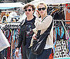 Photo of Mandy Moore and Ryan Adams at the Melrose Flea Market
