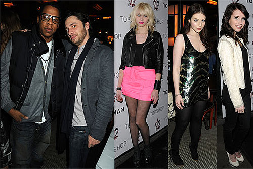 Photos of Jay-Z, Taylor Momsen, Michelle Trachtenberg, Zach Braff at TopShop Balthazar Launch Party