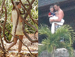 Gisele & Tom Bring Little Jack to Costa Rica For Their Wedding!