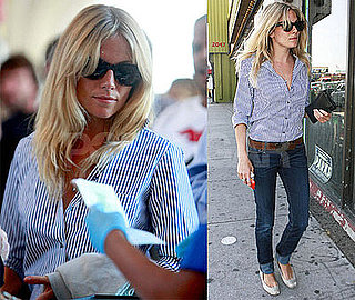 Sienna Miller Finishes Her Quick Business in LA