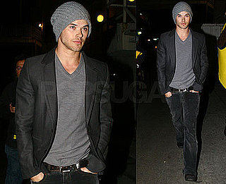 Photos of Twilight Star Kellan Lutz at My House in Hollywood, California