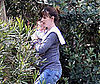 Photo of Jennifer Garner and Seraphina Affleck At a Park in LA
