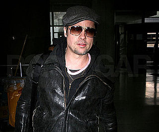 Photo of Brad Pitt at JFK