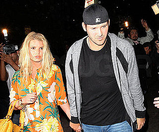 Photo of Jessica Simpson and Tony Romo at Beso in LA