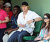 Photo of Owen Wilson Watching Tennis