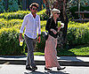 Photo of Kirsten Dunst and a Guy Getting Lemonade