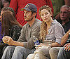 Photo of Kate and Oliver Hudson at the Lakers Game