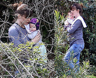 Seraphina Finally Makes Her Smiley Debut With Jennifer Garner