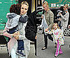 Photos of Heidi Klum — Who Might Be Pregnant With Her 4th Child — With Kids Leni, Henry and Johan at FAO Schwarz