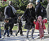 Photo of Heidi Klum and Seal With Leni, Henry, and Johan in Central Park on Easter