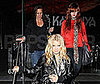 Photo of Jessica, Ashlee and Tina Simpson Leaving Katsuya