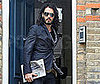 Photo of Russell Brand Leaving His London Home
