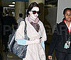 Photo of Anne Hathaway at LAX