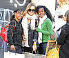 Photo of Lauren Conrad Posing with Fans Outside the NYC Topshop Store
