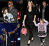 Photos of Pregnant Heidi Klum, Leni Klum, Johan Samuel, Henry Samuel at Seal&#039;s Concert in NYC
