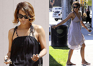 Photo of Halle Berry Visiting a Friend's House in LA