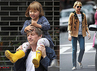 Photos of Michelle Williams, Spike Jonze and Matilda Ledger in NYC