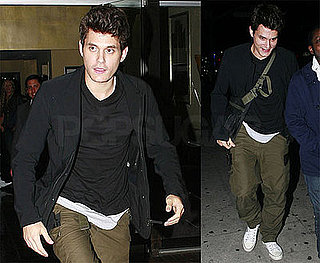 Photo of John Mayer Leaving a Jeff Beck Concert Without Rumored New Girlfriend Scheana Marie Jancan