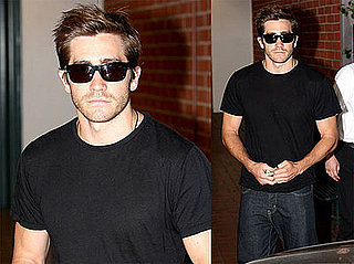 Photos of Jake Gyllenhaal Leaving a Medical Center in Beverly Hills