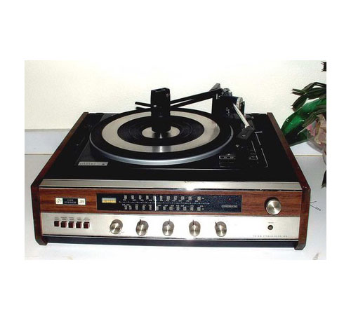 Vintage Fisher Turntable/Amp/Receiver