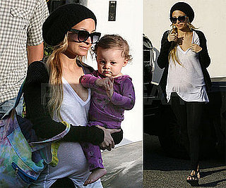 Photos of Pregnant Nicole Richie and Harlow in LA, Joel in Poker Tournament in Monte Carlo