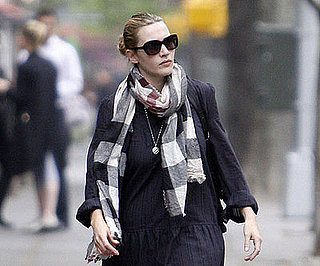 Photo of Kate Winslet Walking Around NYC