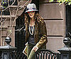 Photo of Sarah Jessica Parker Leaving Her House in NYC