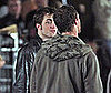 Photos of Robert Pattinson on the set of New Moon