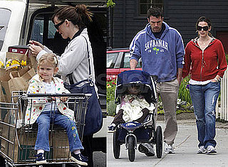 Photos of Ben Affleck and Jennifer Garner, Who Just Bought a $17.55 Million Home in LA, With Daughter Violet in Boston