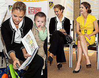 Photos of Keri Russell and Jessica Alba Promoting Children's Healthcare in Washington DC