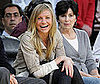 Photo of Cameron Diaz at a Lakers Game
