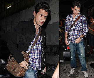 Photo of John Mayer Leaving LA's Hotel Café