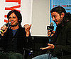 Photo of Gael Garcia Bernal and Diego Luna Chatting in LA