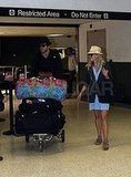 Reese and Jake at the Airport