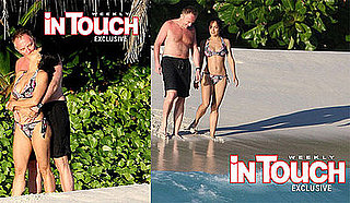 Bikini Photos of Salma Hayek and Francois-Henri Pinault on Their Honeymoon in Africa