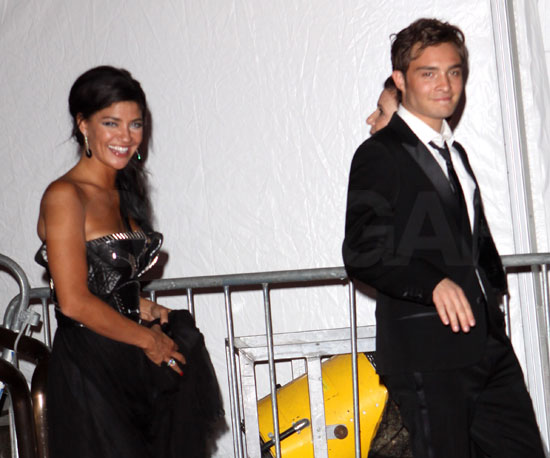 Ed Westwick and Jessica Szohr