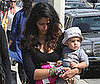 Photo of Camila Alves and Levi McConaughey at the Brentwood Country Mart