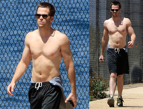 Star Trek's Chris Pine Shirtless in LA — Sexy or Not?