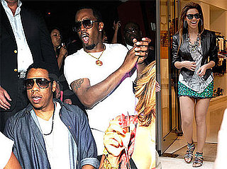 Photos of Beyonce in Paris, Diddy, Jay-Z in Vegas