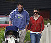 Photo of Ben Affleck and Jennifer Garner out with Violet in Boston