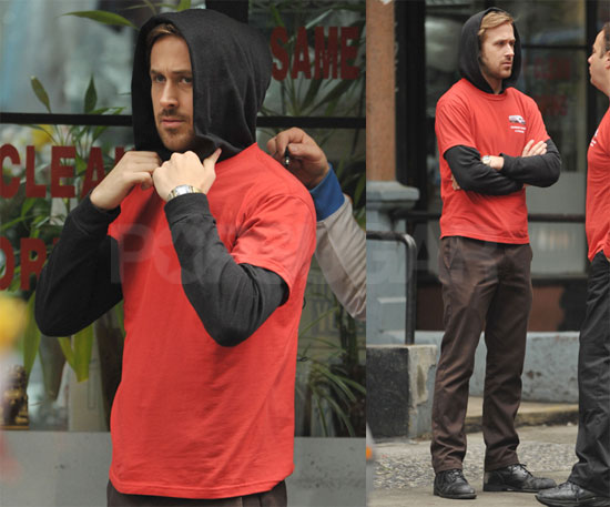 Ryan Gosling in Red