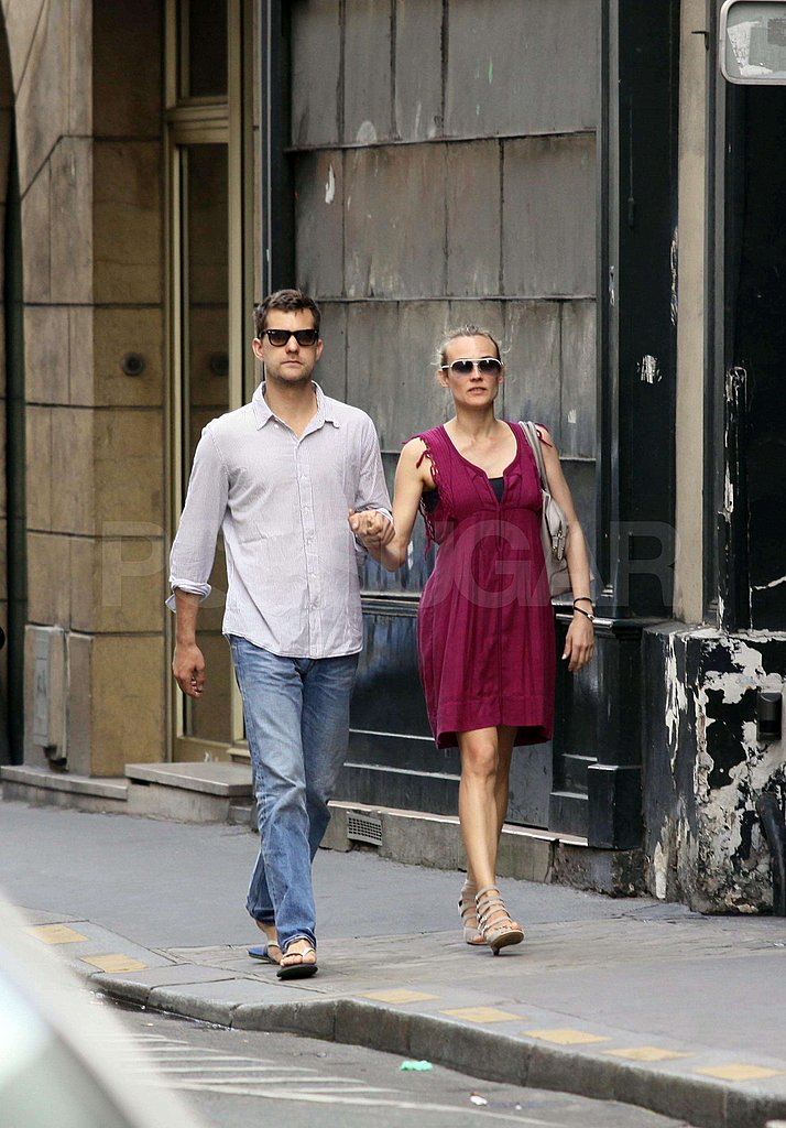 Josh and Diane in Paris