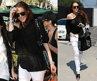 Photos of Lindsay and Ali Lohan Shopping in LA