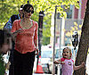 Photo Slide of Jennifer Garner and Violet Affleck Exercising in Boston