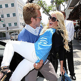 Photos of Heidi Montag and Spencer Pratt Dining at the Ivy in LA