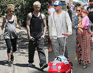 Photos of Nicole Richie, Joel Madden, Harlow Madden Celebrating Mother's Day in LA