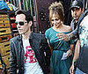 Photo Slide of Marc Anthony Visiting Jennifer Lopez on the Set of The Back-Up Plan