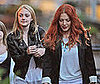 Photos of Dakota Fanning and Rachelle Lefevre Together in Vancouver