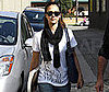 Photo Slide of Jessica Alba Leaving a LA Studio