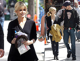 Photos of Pregnant Sarah Michelle Gellar and Husband Freddie Prinze Jr on the NYC Set of The Wonderful Maladies